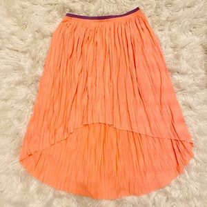 American Eagle High-Low Pleated Skirt